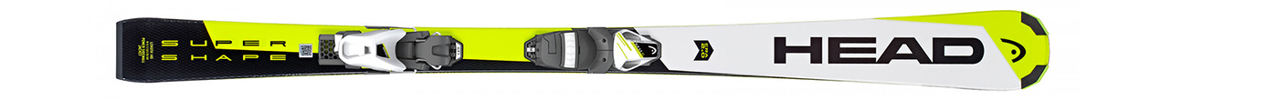 Supershape SLR 2 White/Neon/Yellow + SLR 7.5 AC (130-160)